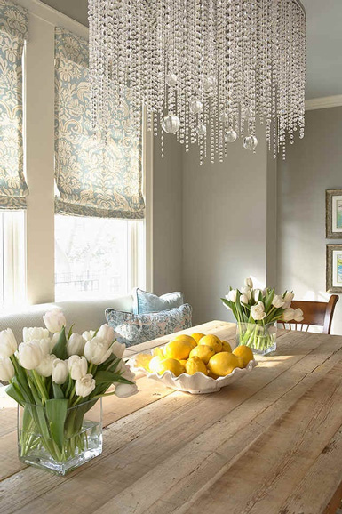 Glamorous Living Room Dining Home Staging