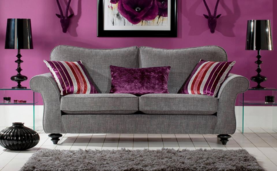 charmig soffa